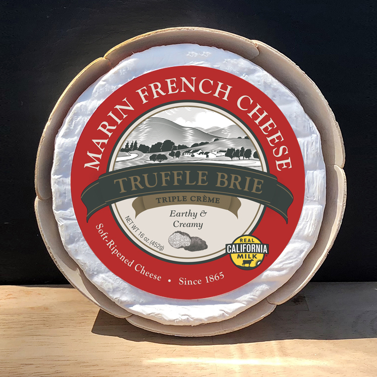 Marin French Cheese Truffle Brie