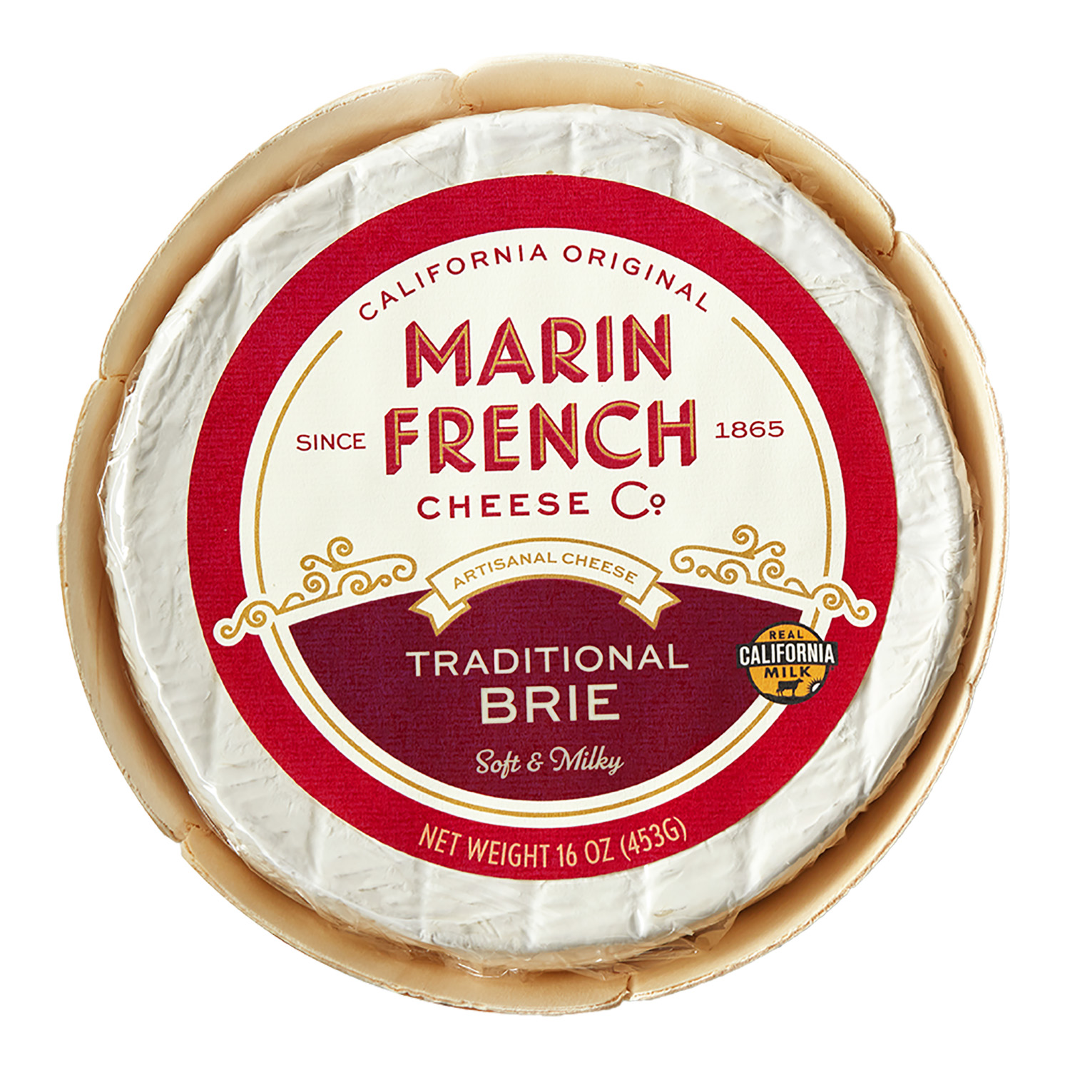 MFC_16oz Traditional Brie Front Label_High Res