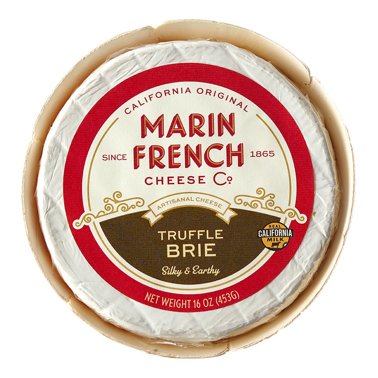 MFC_16oz Truffle Brie Front Label_High Res