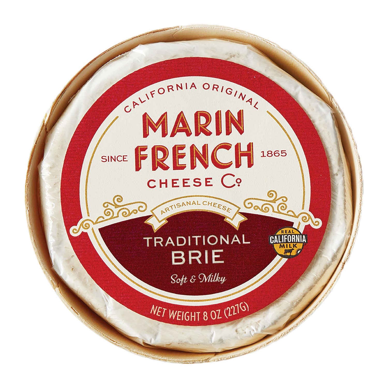 MFC_8oz Traditional Brie Front Label_High Res