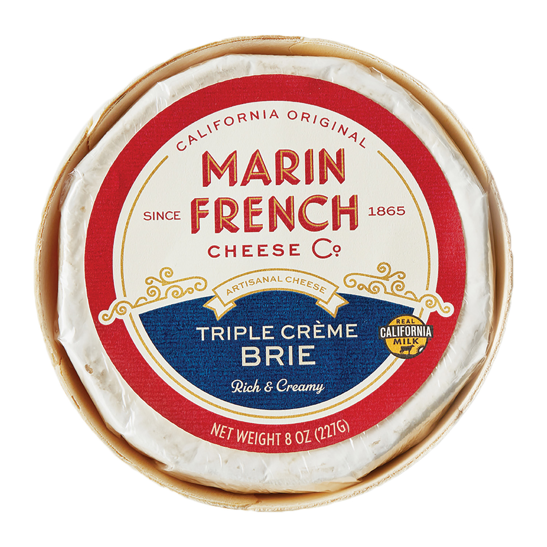 MFC_8oz Triple Creme Brie Front Label_High Res